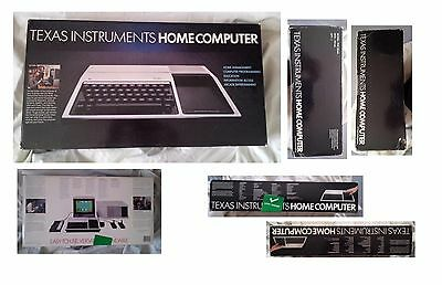 Texas Instruments TI-99/4A SILVER VERSION - COLLECTOR BRAND NEW