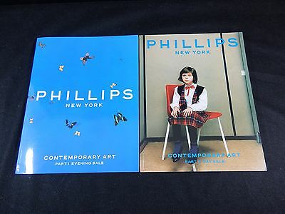 "Phillips Auction Catalogs ""contemporary Art"" 2000"