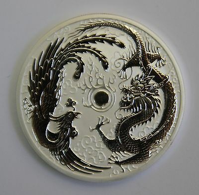 2017 Perth Mint - 1oz Silver Dragon and Phoenix Bullion Coin