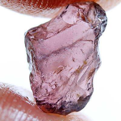 3.23 ct.Purple Pink Spinel  Natural Rough Gemstone Unheated Free shipping!!