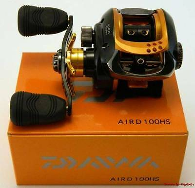 DAIWA  AIRD 100HS - 9BB Low Profile Baitcaster Reel - BOXED BRAND NEW !!!