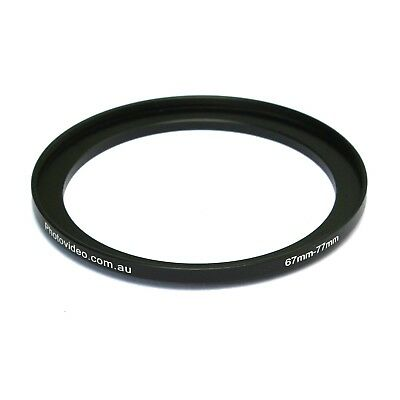 Step Up Ring 67-77mm 67mm 77mm - NEW