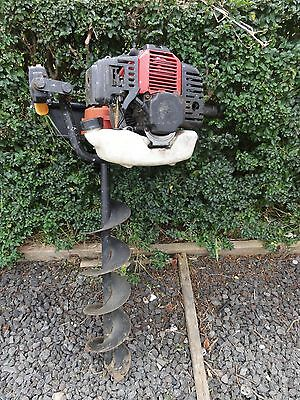 post hole digger fence post auger