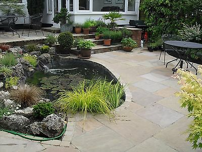Raj Green Calibrated 24mm Indian Sandstone Paving - Exact m2