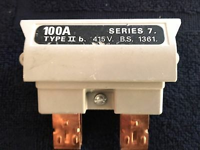 Fuse 100Amp Series 7 415 Volt Henley Made In The Uk Grab A Bargin !!!!!!!