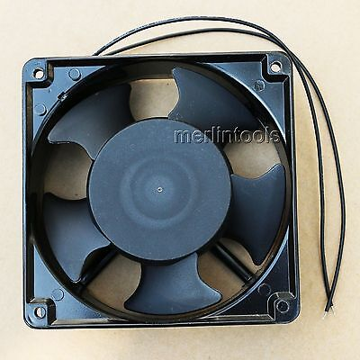 Ac 220V - 240V Ball Bearings In Aluminum Cooling Fan 150 X 150 X 50Mm Hbl