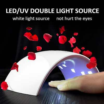 36W LED UV Nail Gel Dryer Curing Lamp Polish Professional Machine Light  Timer