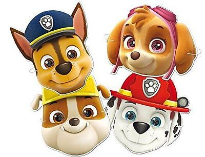 Paw Patrol Masks - 6 Masks Pack - Ideal for Parties