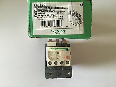 SCHNEIDER 37-50AMP 3 PHASE THERMAL OVERLOAD LRD350 TeSys 921550