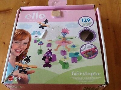 Ello Creation System Fairytopia Construction Building boxed 130+ Pieces