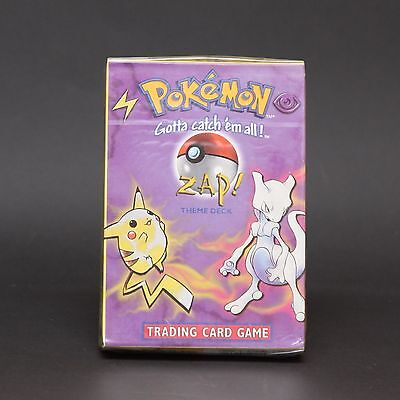 Pokemon Trading Card Game TCG ZAP Theme Deck Factory Sealed RARE 1999