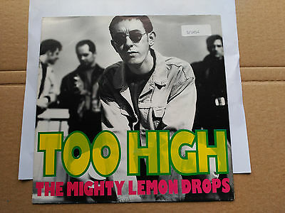 Single The Mighty Lemon Drops - Too High (Remix) - Sire Germany 1991 Vg+