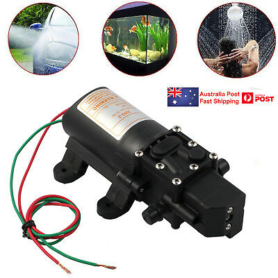 12V 4L/Min High Pressure Micro Diaphragm Water Pump 100Psi For Car Caravan Boat