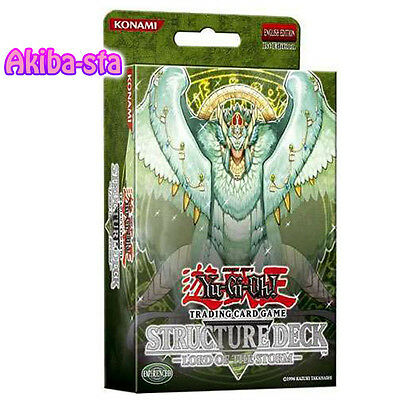 Yugioh English Structure Deck Lord of the Storm 1st Edition Factory Sealed!