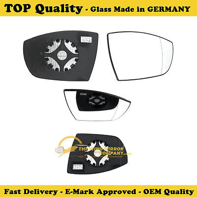 RHS Wide Angle Wing Mirror Glass Galaxy-S Max Clip On Heated  03-2006 To 04-2015