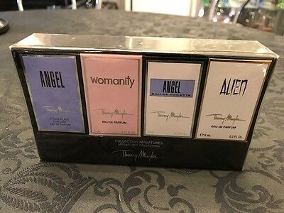 Thierry MUGLER Angel, Alien, Womanity Miniaturen NEU