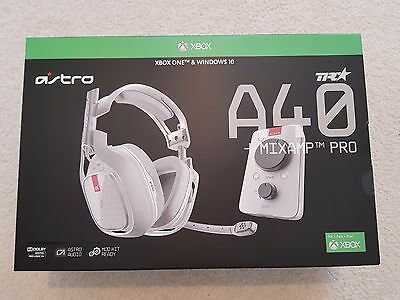 Astro A40 + Mixamp Pro TR Gaming Headset GEN 3 (PC & XBOX ONE) BRAND NEW, SEALED