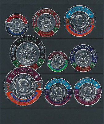 Tonga Stamps 1968-1970 9 sets.  All Mint Never Hinged.  See scans.