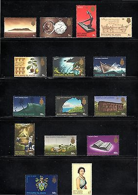 Pitcairn Islands 1969 pictorial issue of 15 SG 94/106b MH