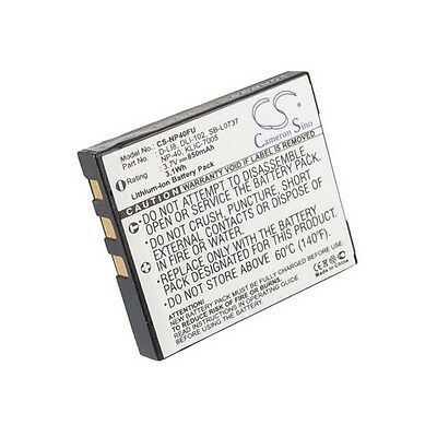 Replacement Battery For VIVITAR DVR-560G