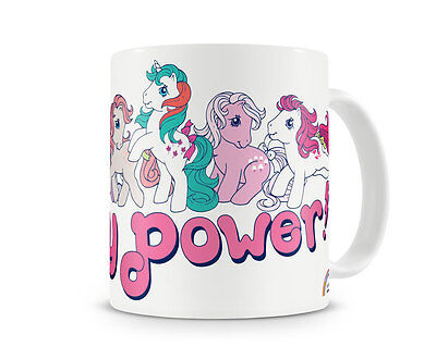 Officially Licensed Merchandise My Little Pony- Pony Power Coffee Mug