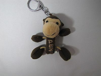 2006 PEZ Safari Babies Soft Monkey Dispenser and Keychain