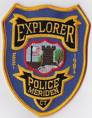 Explorer Police Patch Connecticut CT NEW!!