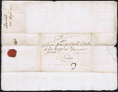 Norfolk PH 1704 Lettersheet Hockwold to London Full Contents