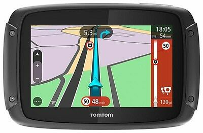 TomTom Rider 450 Premium GPS Sat Nav Motorcycle Lifetime Map World Updates