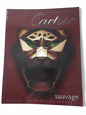 French Cartier Sauvage Art Magazine Number 11