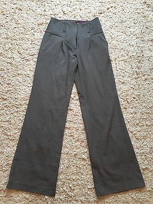 Vintage Style River Island High Waisted Trousers Size 8