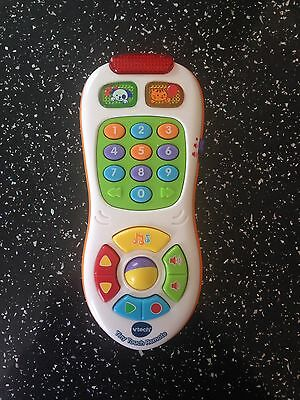 Vtech BABY TINY TOUCH REMOTE Lights Sound Play Toy Toddler Phone BATTERIES INC!!