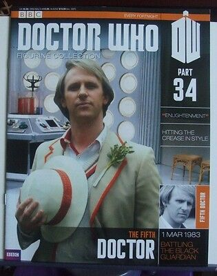 BBC Doctor Who Figurine Collection (Magazine Only) Part 34 The Fifth Doctor
