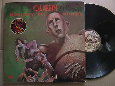 QUEEN noticias RARE CENSORED ARGENTINA ONLY p/s LP EMI 1977*gatefold*CONVIVENCIA