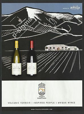 TENUTA DELLE TERRE NERE (Estate of the Black Lands) - Italian Wine Print Ad