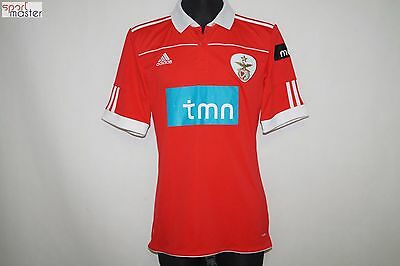 Benfica 2010 - 2011 Home Adidas Football shirt SIZE M