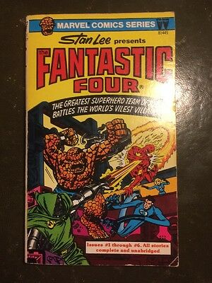 Marvel Comics Series The Fantastic Four paperback - Pocket Books, 1977