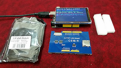 "3.5"" Inch TFT COLOR LCD Shield Module 320x480 Arduino UNO Mega2560 USA Shipping"
