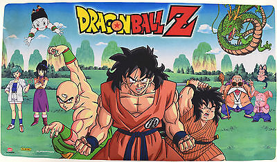 NEW Panini Dragonball Z TCG Anime Rubber Playmat / Mousepad - Dirty