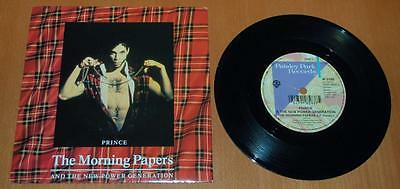 """Prince - The Morning Papers - 1992 UK 7"""" Single"""