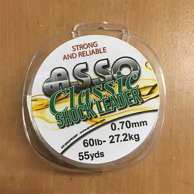 Asso Classic Shockleader - 50, 60 Or 70Lb