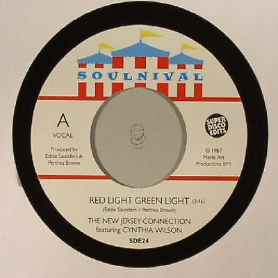 NEW JERSEY CONNECTION, The feat CYNTHIA WILSON - Red Light Green Light - 7""