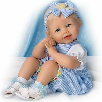 Ashton Drake - MADISON LET'S PLAY Baby Girl Doll by Bonnie Chyle