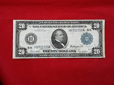 FR-995  1914 Series $20 Twenty Dollar St Louis Federal Reserve Note **XF**