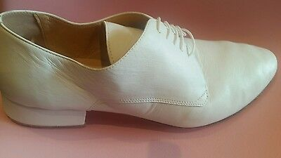 "Merlet ""Zephir"" Gents Ballroom Dance Shoes white  eur 41 UK 7"