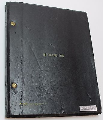 The  Killing Zone * 1971 Unmade Script by Writer of Jeremiah Johnson and Becket