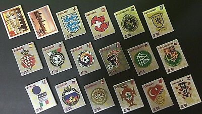 Panini Euro 96 Europa 96 EM Complete Loose Stickers set Original Black Back Rare