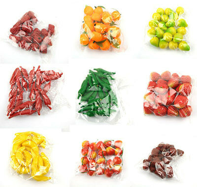 Accessories Artifical Puzzle Toy Vegetable Fake fruit Mini Plastic  Decor Props