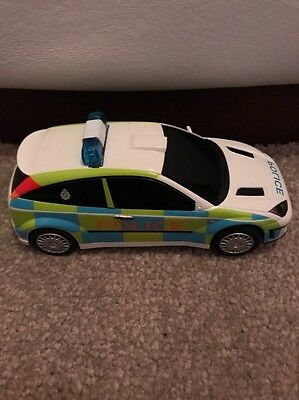 HORNBY Scalextric Sport FORD Focus WRC Police Car Slot Car *FLASHING LIGHTS*
