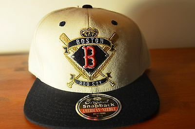 Boston Red Sox, CREST, Ivory/Black, MLB, Snapback (LIMITED EDITION)